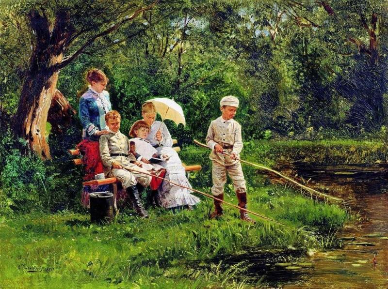 картины русских художников о детях картинки ищите